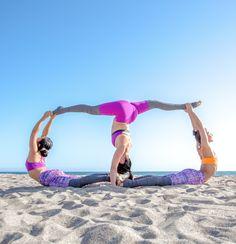 #yoga 3 Person Yoga Poses, Group Yoga Poses, Acro Yoga Poses, Partner Yoga Poses, Easy Yoga Poses, 3 People Yoga Poses, Ashtanga Yoga, Vinyasa Yoga, Yoga Routine
