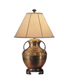 Wildwood 761 Old Brass Handles 29 Inch Table Lamp