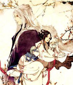 Đông Hoa x Phượng Cửu - Ngôn tình: Chẩm thượng thư (tác giả: Đường Thất Công Tử) - Artist: 伊吹五月 (Ibuki Satsuki) | Periacon Anso