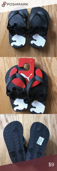 Toddler Puma flip flops NWT Puma flip flops toddler size 6 NWT Puma Shoes Sandals & Flip Flops