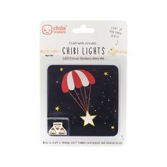 Chibitronics makes circuit stickers and other tools for paper circuits, which blends circuit building and programming with arts and crafts. It's a friendly way to learn, design and create your own electronics. Science Kits, Science Projects, Led Light Stick, Simple Circuit, Coupon Binder, Card Making Inspiration, Simon Says Stamp, Arts And Crafts Supplies, Toy Store