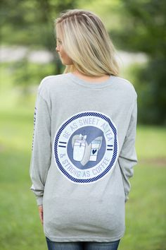 This brand new Jadelynn Brooke long sleeve tee is perfect for those ladies who love a little sass and sweetness!