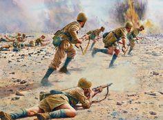 """Regio Esercito - La Divisione di Fanteria """"Brescia"""" All'attacco della linea di Gazala, 1942"""