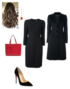 """""""Work"""" by cgraham1 on Polyvore featuring Givenchy, Christian Louboutin, Dolce&Gabbana, Burberry and Irene Neuwirth"""