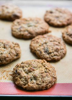 A fantastic low-fat chewy,Oatmeal Cookie recipe. Healthier since it uses apple sauce and very little butter