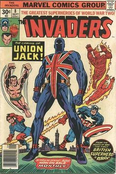 marvels the invaders | Marvels CAPTAIN AMERICA Film will include The Invaders - News ...