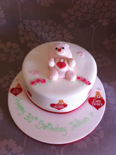 Care Bear Cake - for the big kid in all of us girls!