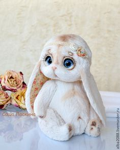 Baby Animals Super Cute, Cute Stuffed Animals, Cute Little Animals, Funny Toys, Cute Toys, Knitted Animals, Felt Animals, Teddy Toys, Teddy Bear
