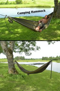 When it comes to camping there is no easier and more comfortable solution than a hammock. It is compact, cosy and easy to use.