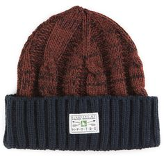Hippy Tree Doheny Beanie (€70) ❤ liked on Polyvore featuring accessories, hats, striped beanie hat, striped beanie, cap hats, striped hat and stripe hat