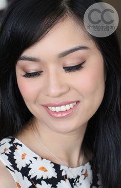 Asian makeup, Vietnamese Bride, Perfect eyeliner, Black eyeliner, Asian eye makeup, Soft gold eyes, Bridal, Wedding | MAKEUP + PHOTOGRAPHY CHRISTINA CLEARY www.christinacleary.com.au