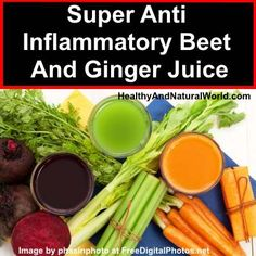 Inflammation is a silent killer that quietly attacks the brain, heart and immune system but the great news is that you can beat it with this delicious anti Inflammatory juice.