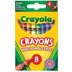Crayola - 8 crayons à la cire - Génération Souvenirs
