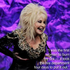 Dolly Parton on feminism.