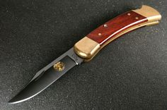 buck 110 custom w/ black oxide blade? - Google Search
