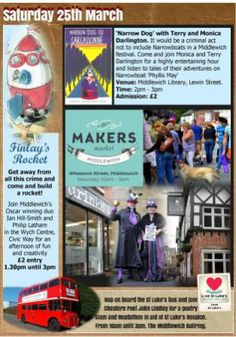 ScribeFest Makers Market Finlays Rocket My Town, After School, Entertaining, Adventure, Life, Adventure Movies, Adventure Books, Funny
