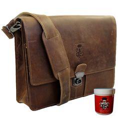 Baron, Messenger Bag, Satchel, Backpacks, Women, Fashion, Shoulder Pads, Leather Bag, Get Tan