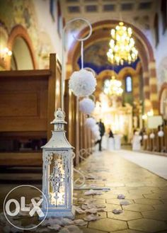Dekoracja kościoła na ślub, dekoracje kościołów, ślub, Łódź Łódź - image 4
