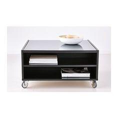 Coffee Table Option 3: IKEA BOKSEL Coffee table - black-brown veneer finish $169.00