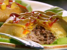Jamie's Cheeseburger Pie recipe from Paula Deen via Food Network