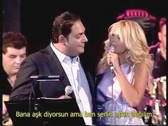 Natasa Thedoridou & Stelios Dionisiou - Me les agapi - Bana aşk diyorsun ama ben senin aşkın değilim Geçişlerinde ben sadece bir basamağım