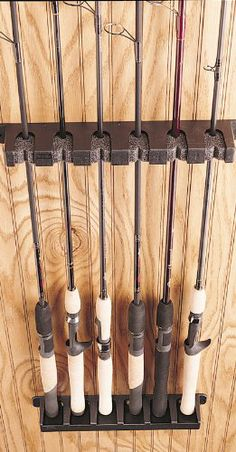 1000 Images About Fishing Rod Rack On Pinterest Rod