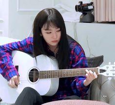 """The difference between a 'man' and a 'father' is that the former sha… # Fiksi remaja # amreading # books # wattpad Kpop Girl Groups, Korean Girl Groups, Kpop Girls, My Girl, Cool Girl, Bubbline, Kang Seulgi, Red Velvet Seulgi, Playing Guitar"