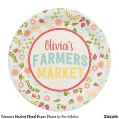 sc 1 st  Pinterest & Watercolor Strawberry Paper Plate