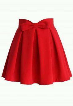 Sweet Your Heart Bowknot Pleated Skirt in Ruby - Skirt Buy 1 Get 1 HALF - Skirt - Bottoms - Retro, Indie and Unique Fashion Red Pleated Skirt, Bow Skirt, Red Skirts, Cute Skirts, Mini Skirts, Skater Skirts, Mesh Skirt, Red Skater Skirt, Fancy Skirts
