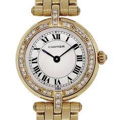 Cartier Ladies Yellow Gold Diamond Panthere Vendome Cougar Quartz Wristwatch