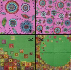 Купить салфетки декупаж 2 вида орнамент ажур лубок цветы лето абстракция - салфетки