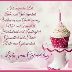 Ich wünsche Dir Liebe und Geborgenheit, Vertrauen und Anerkennung