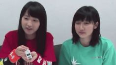 Riho and Masaki from Morning Musume/The cutest and best moment ever...