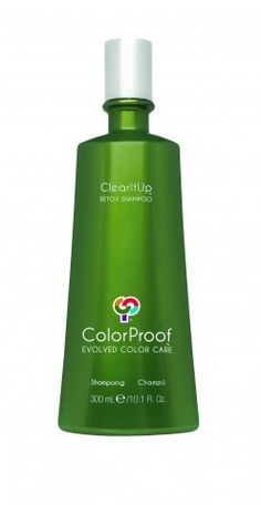 ColorProof ClearItUp Detox Shampoo. Best clarifying shampoo out there.
