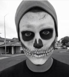 21 Halloween Makeup Ideas For Men   Mens halloween makeup ...