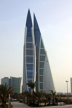 Bahrain World Trade Centre, Manama  http://www.expatwoman.com/dubai/monthly_property_top_ten_skyscrapers_13674.aspx