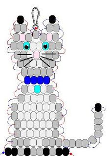 Katzenpony perlenmuster crafts 4 camp perlenbasteln camp crafts katzenpony perlenbasteln perlenmuster cactus for cats catcus scratching post cat tree boho cat tower Pony Bead Patterns, Beaded Jewelry Patterns, Weaving Patterns, Craft Patterns, Bead Jewelry, Mosaic Patterns, Bracelet Patterns, Knitting Patterns, Jewelry Findings