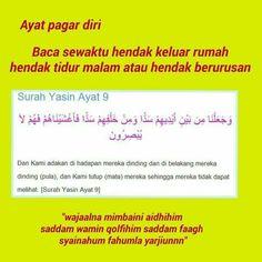 Doa pagar diri Islamic Love Quotes, Islamic Inspirational Quotes, Muslim Quotes, Quotes Sahabat, Pray Quotes, Hijrah Islam, Doa Islam, Doa Ibu, Surah Al Quran