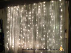 Crafty Creations: Booth Backdrop : wedding decor diy seattle Finished finished