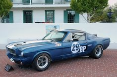 1966 SHELBY GT350 SCCA B-PRODUCTION RACE CAR Every