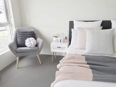 Pink bedroom, Blush bedding top picks for inspiration for a cosy and relaxing bedroom Pink Bedroom Design, Blush Bedroom, Pink Bedroom For Girls, Pink Bedroom Decor, Master Bedroom Interior, Pink Bedrooms, Bedroom Ideas, Teen Bedrooms, Trendy Bedroom