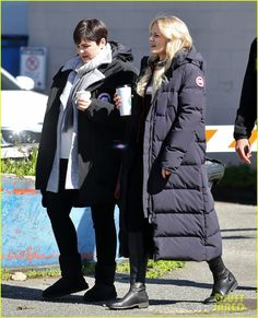 """Ginnifer Goodwin and Jennifer Morrison - Behind the scenes - 5 * 23 """"An Untold Story"""" - 29 March 2016"""