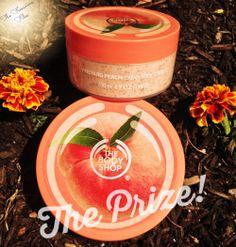 The Body Shop Haul and More: Vineyard Peach Body Butter and Cream Body Scrub.