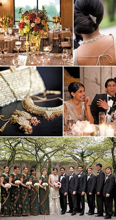 Glamorous Indian wedding; Photos by Artisan Events #weddings