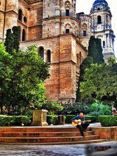 Catholic Church Malaga, Spain