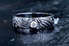 Mass Effect inspired engagement ring