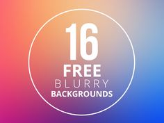 I decided to give you guys a sample of my huge blurry background collection I made a couple of weeks ago. These are some of my favorites in my collection. If you guys like what you see, and decid...