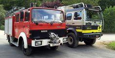 IVECO 90-16 Doka und mit gekürzter Kabine im Vorher - Nachher Vergleich