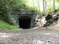 Shuman Tunnel is an abandoned railroad tunnel that was part of the Catawissa Railroad, which later became part of the Reading Railroad.  It is located south of Mainville, PA.  These were taken in