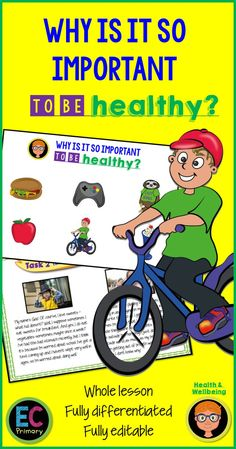 A fully-resourced, detailed and differentiated 1 hour lesson all about living a healthy lifestyle and prioritising being active and making healthy food cho. Healthy Eating For Kids, Healthy Food Choices, Healthy Children, Healthy Living, 6th Grade Activities, Hands On Activities, Health Lessons, Science Lessons, Pshe Lessons